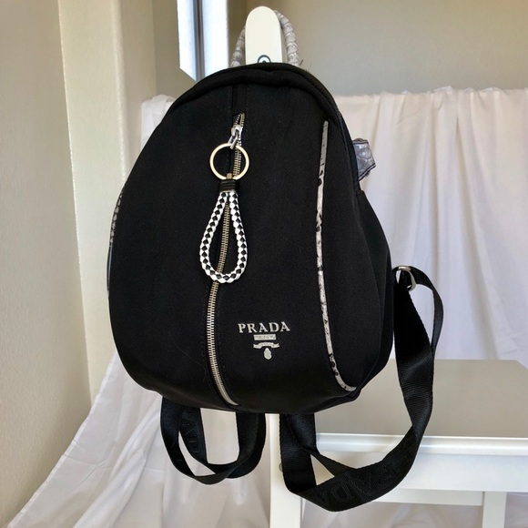 198e0a6b0748 Prada Bags | Beautiful Womens Black Backpack | Poshmark